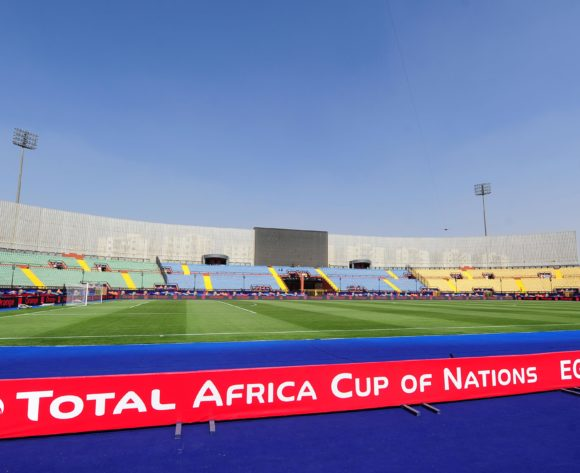 General view of Al Salam Stadium shortly before the 2019 Africa Cup of Nations Finals last 16 match between Morocco and Benin at the Al Salam Stadium in Cairo, Egypt on 05 July 2019 © Ryan Wilkisky/BackpagePix