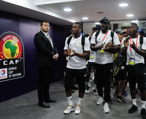 Benin squad arrivals before the 2019 Africa Cup of Nations Finals last 16 match between Morocco and Benin at the Al Salam Stadium in Cairo, Egypt on 05 July 2019 © Ryan Wilkisky/BackpagePix
