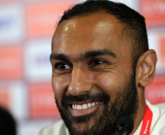 Ahmed El Mohamady of Egypt during the 2019 Africa Cup of Nations Finals Egypt press conference at Cairo International Stadium, Cairo, Egypt on 05 July 2019 ©Samuel Shivambu/BackpagePix