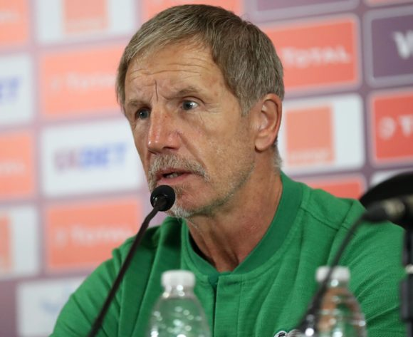 Stuart Baxter, head coach of South Africa during the 2019 Africa Cup of Nations Finals South Africa press conference at Cairo International Stadium, Cairo, Egypt on 05 July 2019 ©Samuel Shivambu/BackpagePix