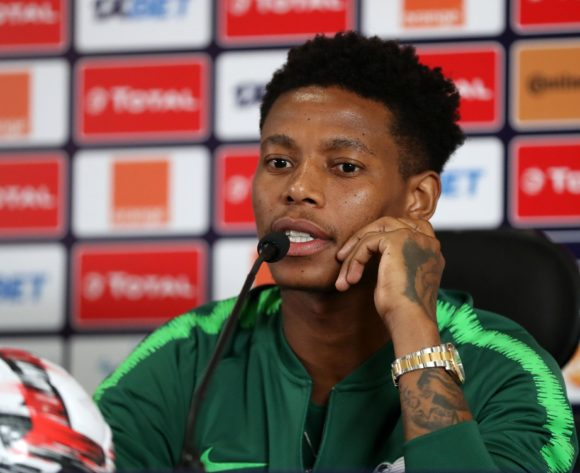 Bongani Zungu of South Africa during the 2019 Africa Cup of Nations Finals South Africa press conference at Cairo International Stadium, Cairo, Egypt on 05 July 2019 ©Samuel Shivambu/BackpagePix