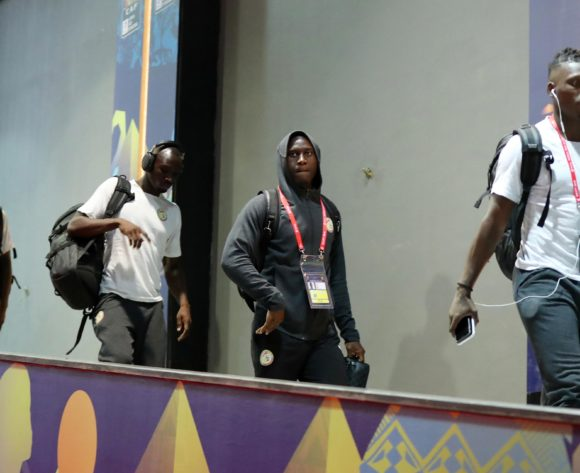 Senegal players arrivals during the 2019 Africa Cup of Nations Finals last 16 match between Uganda and Senegal at Cairo International Stadium, Cairo, Egypt on 05 July 2019 ©Samuel Shivambu/BackpagePix