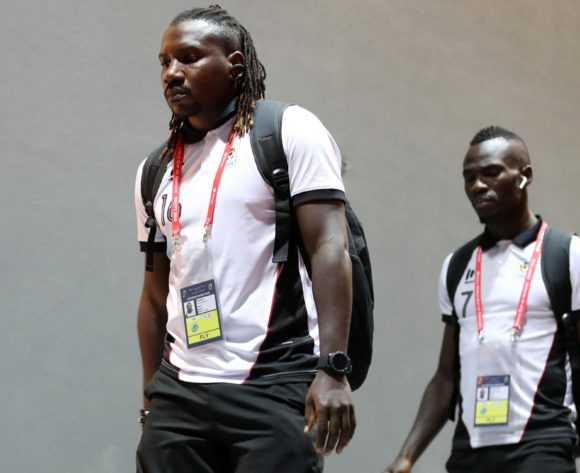 Uganda players arrivals during the 2019 Africa Cup of Nations Finals last 16 match between Uganda and Senegal at Cairo International Stadium, Cairo, Egypt on 05 July 2019 ©Samuel Shivambu/BackpagePix