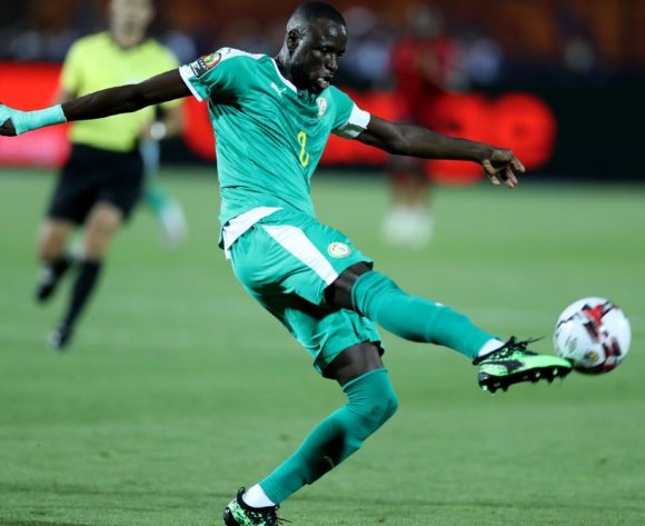 Cheikhou Kouyate of Senegal during the 2019 Africa Cup of Nations Finals last 16 match between Uganda and Senegal at Cairo International Stadium, Cairo, Egypt on 05 July 2019 ©Samuel Shivambu/BackpagePix