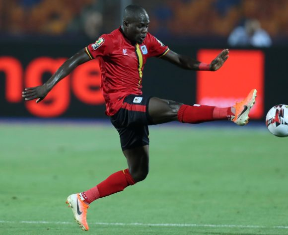 Faruku Miya of Uganda during the 2019 Africa Cup of Nations Finals last 16 match between Uganda and Senegal at Cairo International Stadium, Cairo, Egypt on 05 July 2019 ©Samuel Shivambu/BackpagePix