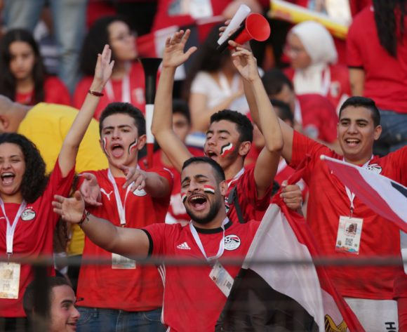 Egypt fans during the 2019 Africa Cup of Nations Finals last 16 match between Egypt and South Africa at Cairo International Stadium, Cairo, Egypt on 06 July 2019 ©Samuel Shivambu/BackpagePix