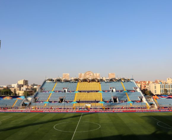 General View of the Stadium during the 2019 Africa Cup of Nations Last 16 match between Ghana and Tunisia at the Ismailia Stadium, Ismailia on the 08 July 2019 ©Muzi Ntombela/BackpagePix