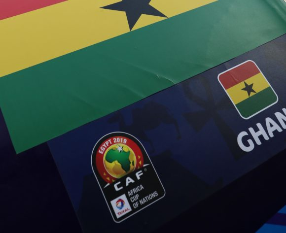 Ghana flag during the 2019 Africa Cup of Nations Last 16 match between Ghana and Tunisia at the Ismailia Stadium, Ismailia on the 08 July 2019 ©Muzi Ntombela/BackpagePix