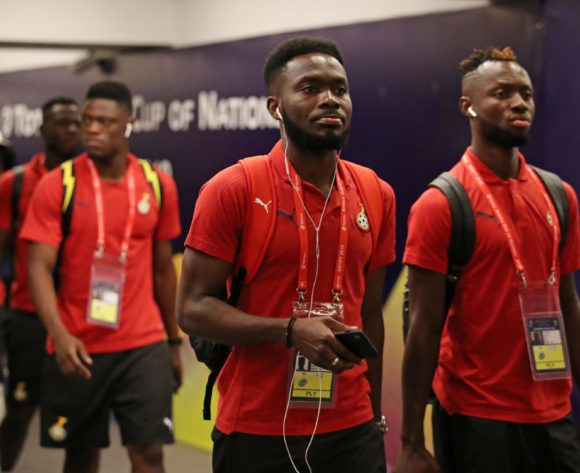 Ghana team arrival during the 2019 Africa Cup of Nations Last 16 match between Ghana and Tunisia at the Ismailia Stadium, Ismailia on the 08 July 2019 ©Muzi Ntombela/BackpagePix