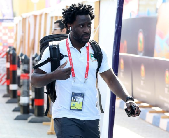 Ivory Coast players team arrivals during the 2019 Africa Cup of Nations Finals last 16 match between Mali and Ivory Coast at Suez Stadium, Suez, Egypt on 08 July 2019 ©Samuel Shivambu/BackpagePix