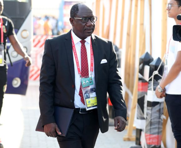 Mohamed Magassouba, head coach of Mali arrivels during the 2019 Africa Cup of Nations Finals last 16 match between Mali and Ivory Coast at Suez Stadium, Suez, Egypt on 08 July 2019 ©Samuel Shivambu/BackpagePix