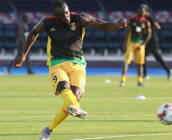 Moussa Marega of Mali warm up during the 2019 Africa Cup of Nations Finals last 16 match between Mali and Ivory Coast at Suez Stadium, Suez, Egypt on 08 July 2019 ©Samuel Shivambu/BackpagePix