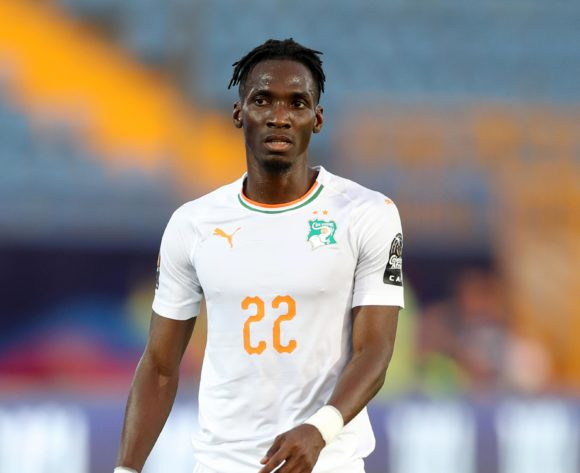 Bagayoko Mamadou of Ivory Coast during the 2019 Africa Cup of Nations Finals last 16 match between Mali and Ivory Coast at Suez Stadium, Suez, Egypt on 08 July 2019 ©Samuel Shivambu/BackpagePix