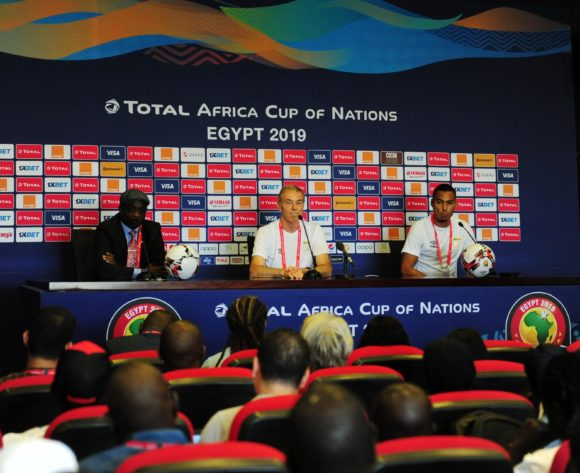 General view during the 2019 Africa Cup of Nations Finals press conference for Benin at 30 June Stadium in Cairo, Egypt on 09 July 2019 © Ryan Wilkisky/BackpagePix