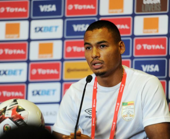 Olivier Verdon of Benin during the 2019 Africa Cup of Nations Finals press conference for Benin at 30 June Stadium in Cairo, Egypt on 09 July 2019 © Ryan Wilkisky/BackpagePix