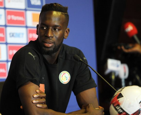Salif Sane of Senegal during the 2019 Africa Cup of Nations Finals press conference for Senegal at 30 June Stadium in Cairo, Egypt on 09 July 2019 © Ryan Wilkisky/BackpagePix