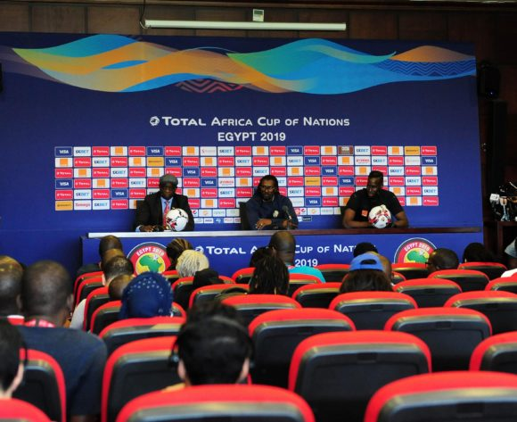 General view during the 2019 Africa Cup of Nations Finals press conference for Senegal at 30 June Stadium in Cairo, Egypt on 09 July 2019 © Ryan Wilkisky/BackpagePix