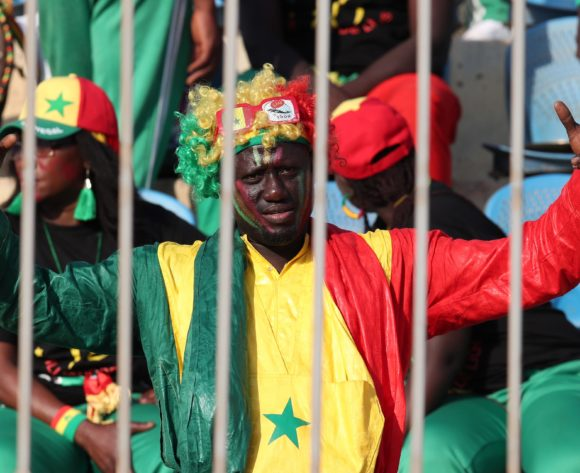 Senegal fan during the 2019 Africa Cup of Nations Quarterfinals match between Senegal and Benin at the 30 June Stadium, Cairo on the 10 July 2019 ©Muzi Ntombela/BackpagePix