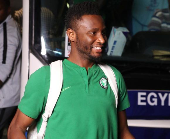 John Obi Mikel of Nigeria arrives during the 2019 Africa Cup of Nations Finals, quarterfinals match between Nigeria and South Africa at Cairo International Stadium, Cairo, Egypt on 10 July 2019 ©Samuel Shivambu/BackpagePix