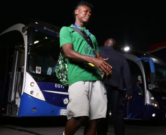 Nigeria players arrivals during the 2019 Africa Cup of Nations Finals, quarterfinals match between Nigeria and South Africa at Cairo International Stadium, Cairo, Egypt on 10 July 2019 ©Samuel Shivambu/BackpagePix