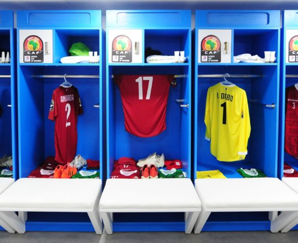 Madagascar dressing room before the Africa Cup of Nations 2019 Finals quarterfinal game between Madagascar and Tunisia at Al Salam Stadium in Cairo, Egypt on 11 July 2019 © Ryan Wilkisky/BackpagePix