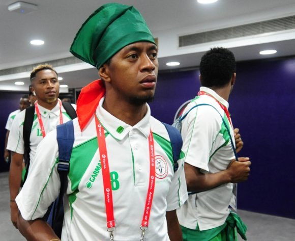 Madagascar players arrive before the Africa Cup of Nations 2019 Finals quarterfinal game between Madagascar and Tunisia at Al Salam Stadium in Cairo, Egypt on 11 July 2019 © Ryan Wilkisky/BackpagePix