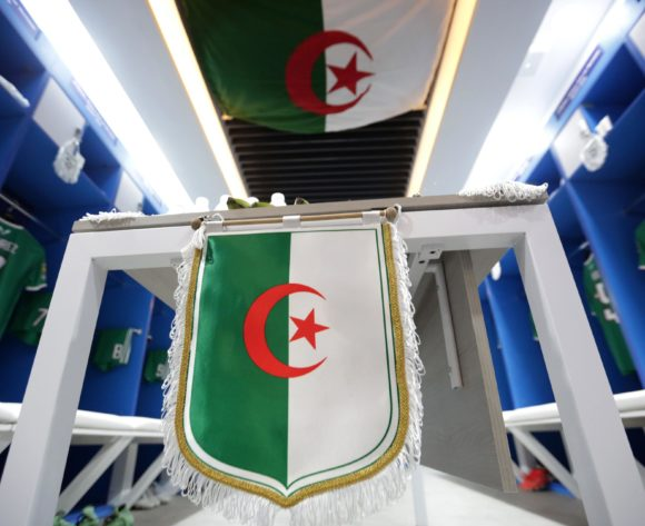 Algeria changeroom general view during the 2019 Africa Cup of Nations Finals, quarterfinals match between Ivory Coast and Algeria at Suez Stadium, Suez, Egypt on 11 July 2019 ©Samuel Shivambu/BackpagePix