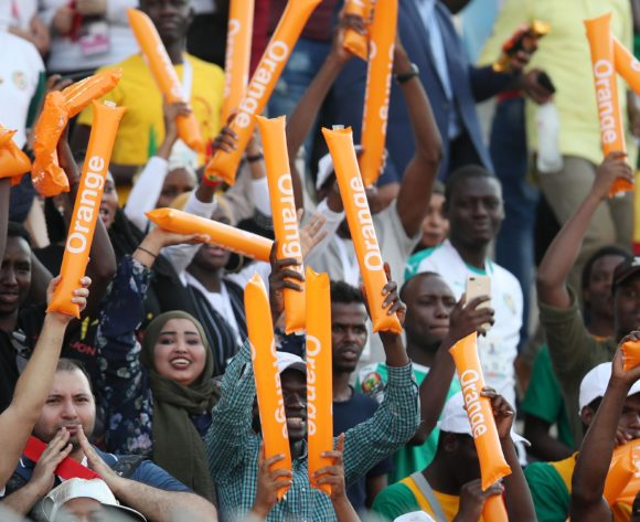Senegal fans during the 2019 Africa Cup of Nations Semifinals match between Senegal and Tunisia at the 30 June Stadium, Cairo on the 14 July 2019 ©Muzi Ntombela/BackpagePix