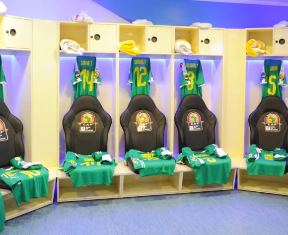 Senegal dressing room before the Africa Cup of Nations 2019 Finals semifinal game between Senegal and Tunisia at 30 June Stadium in Cairo, Egypt on 14 July 2019 © Ryan Wilkisky/BackpagePix
