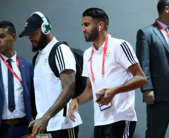 Algeria players arrivals during the 2019 Africa Cup of Nations Finals, Semifinals match between Algeria and Nigeria at Cairo International Stadium, Cairo, Egypt on 14 July 2019 ©Samuel Shivambu/BackpagePix