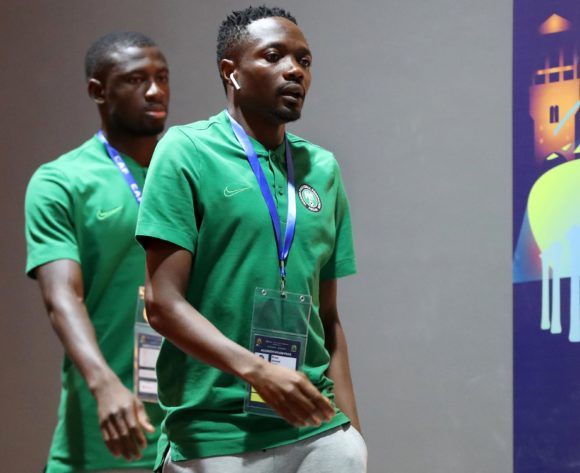 Nigeria players arrivals during the 2019 Africa Cup of Nations Finals, Semifinals match between Algeria and Nigeria at Cairo International Stadium, Cairo, Egypt on 14 July 2019 ©Samuel Shivambu/BackpagePix