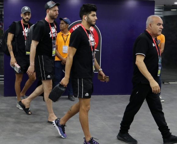 Tunisia players arrival during the 2019 Africa Cup of Nations 3rd and 4th Place match between Tunisia and Nigeria at the Al Salam Stadium, Cairo on the 17 July 2019 ©Muzi Ntombela/BackpagePix