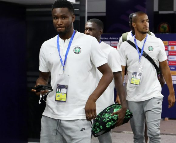 John Obi Mikel of Nigeria during the 2019 Africa Cup of Nations 3rd and 4th Place match between Tunisia and Nigeria at the Al Salam Stadium, Cairo on the 17 July 2019 ©Muzi Ntombela/BackpagePix
