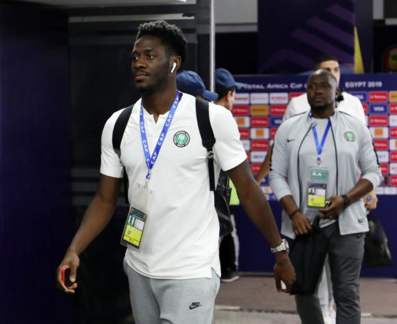 Temitayo Olufisayo Aina of Nigeria during the 2019 Africa Cup of Nations 3rd and 4th Place match between Tunisia and Nigeria at the Al Salam Stadium, Cairo on the 17 July 2019 ©Muzi Ntombela/BackpagePix