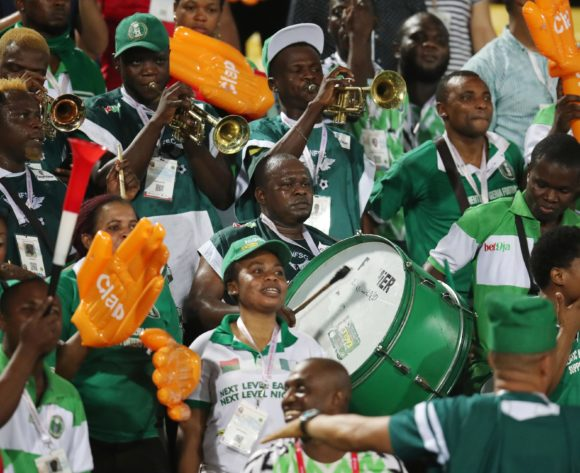 Nigeria fans during the 2019 Africa Cup of Nations 3rd and 4th Place match between Tunisia and Nigeria at the Al Salam Stadium, Cairo on the 17 July 2019 ©Muzi Ntombela/BackpagePix