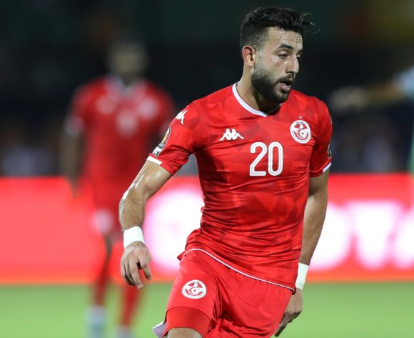 Ghaylen Chaaleli of Tunisia during the 2019 Africa Cup of Nations Finals, 3rd and 4th place match between Tunisia and Nigeria at Al Salam Stadium, Cairo, Egypt on 17 July 2019 ©Samuel Shivambu/BackpagePix