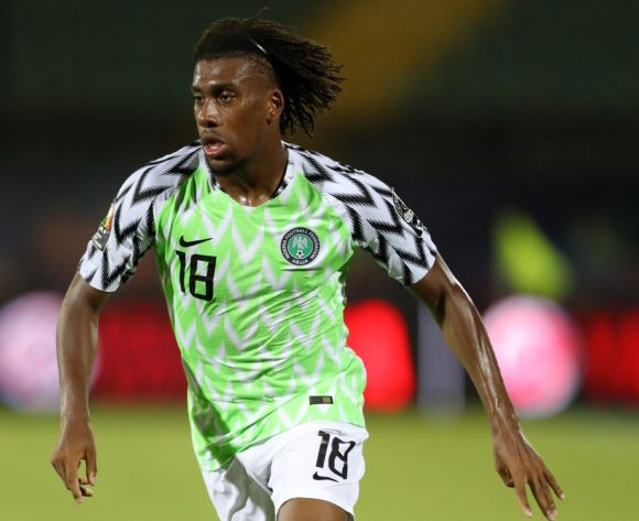 Alexander Iwobi of Nigeria during the 2019 Africa Cup of Nations Finals, 3rd and 4th place match between Tunisia and Nigeria at Al Salam Stadium, Cairo, Egypt on 17 July 2019 ©Samuel Shivambu/BackpagePix