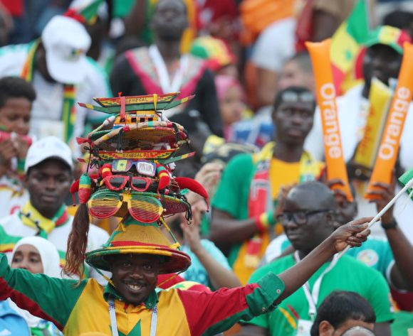 Senegal fans during the 2019 Africa Cup of Nations Final match between Senegal and Algeria at the Cairo International Stadium, Cairo on the 19 July 2019 ©Muzi Ntombela/BackpagePix
