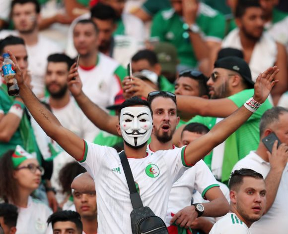 Algeria fans during the 2019 Africa Cup of Nations Final match between Senegal and Algeria at the Cairo International Stadium, Cairo on the 19 July 2019 ©Muzi Ntombela/BackpagePix