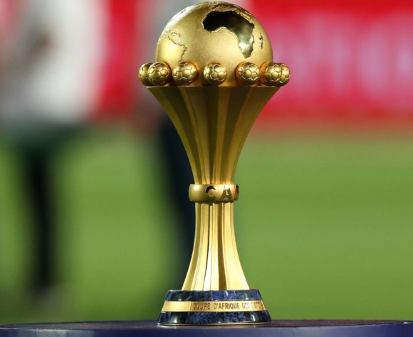 General View of the trophy during the 2019 Africa Cup of Nations Final match between Senegal and Algeria at the Cairo International Stadium, Cairo on the 19 July 2019 ©Muzi Ntombela/BackpagePix