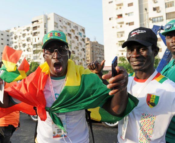 Senegal fans begin to arrive before the 2019 Africa Cup of Nations Finals Final match between Senegal and Algeria at the Cairo International Stadium in Egypt on 19 July 2019 © Ryan Wilkisky/BackpagePix
