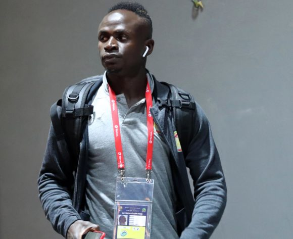Sadio Mane of Senegal arrivals during the 2019 Africa Cup of Nations Finals, Final match between Senegal and Algeria at Cairo International Stadium, Cairo, Egypt on 19 July 2019 ©Samuel Shivambu/BackpagePix