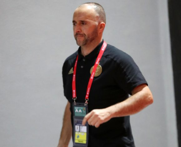 Djamel Belmadi, head coach of Algeria arrives during the 2019 Africa Cup of Nations Finals, Final match between Senegal and Algeria at Cairo International Stadium, Cairo, Egypt on 19 July 2019 ©Samuel Shivambu/BackpagePix