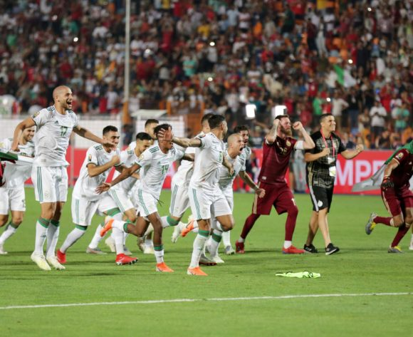 Algeria winners of the 2019 Africa Cup of Nations Finals, Final match between Senegal and Algeria at Cairo International Stadium, Cairo, Egypt on 19 July 2019 ©Samuel Shivambu/BackpagePix