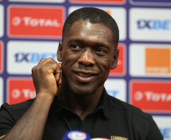 Coach Clarence Seedorf during the 2019 Africa Cup of Nations Cameroon Press Conference at the Alexandria Stadium, Alexandria on the 05 July 2019 ©Guy Suffo/BackpagePix