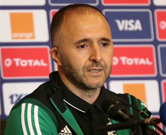The past means nothing now – Algeria's Djamel Belmadi