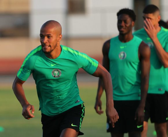 William Paul Ekong during the 2019 Africa Cup of Nations Finals Nigeria training session at the Aero Sports Complex, Cairo, Egypt on 13 July 2019 ©Gavin Barker/BackpagePix