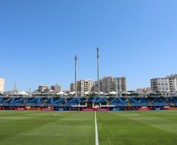 General view of Stadium during the 2019 Africa Cup of Nations Last 16 match between Nigeria and Cameroon at the Alexandria Stadium, Alexandria on the 06 July 2019 ©Muzi Ntombela/BackpagePix