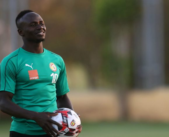 Sadio Mane of Senegal during the 2019 Africa Cup of Nations Finals, semifinals Senegal training at 30 June Stadium Annex, Cairo, Egypt on 13 July 2019 ©Samuel Shivambu/BackpagePix