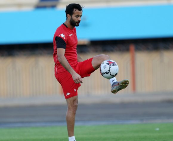 Taha Yassine Khenissi during the 2019 Africa Cup of Nations Finals Tunisia training session at the El Shams Sports Complex, Cairo, Egypt on 13 July 2019 ©Alain Suffo/BackpagePix
